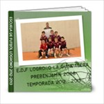 Edf Prebenjamín 2012-2013 - 6x6 Photo Book (20 pages)