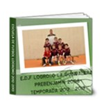 Edf Prebenjamín 2012-2013 - 6x6 Deluxe Photo Book (20 pages)