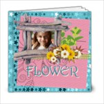 kids of flower - 6x6 Photo Book (20 pages)