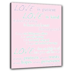 Church Bible Verse 1Cor - Canvas 24  x 20  (Stretched)