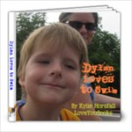 Dylan Loves to Swim - 8x8 Photo Book (20 pages)