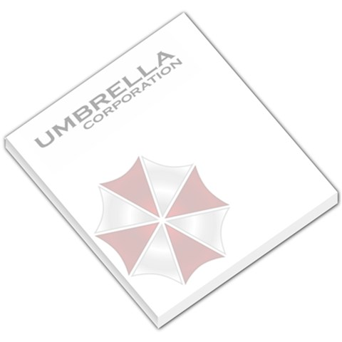 Umbrella Corporation Memopad By Lord Comisario   Small Memo Pads   14gloa7g8uvq   Www Artscow Com