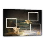 sea canvas 18x12 - Canvas 18  x 12  (Stretched)