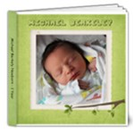 Michael 0-1 year - 8x8 Deluxe Photo Book (20 pages)