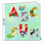 ABC FUN BOOK - 8x8 Photo Book (20 pages)