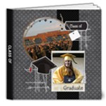 Graduation/Graduate 8x8 Deluxe Photo Book - 8x8 Deluxe Photo Book (20 pages)