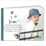 IVAN - 9x7 Photo Book (20 pages)