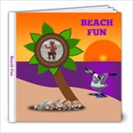 Beach Fun - 8x8 Photo Book (20 pages)