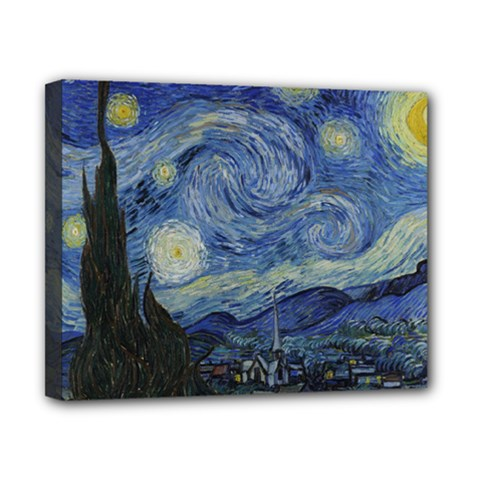 Starry Night Canvas 10  X 8  (framed) by ArtMuseum