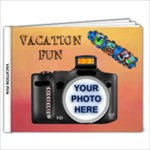 vacation fun - 9x7 Photo Book (20 pages)