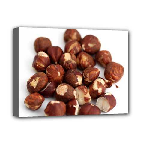 Hazelnuts Deluxe Canvas 16  X 12  (framed)  by hlehnerer