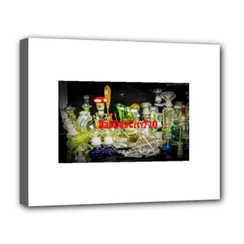 Dabdabcity710 Deluxe Canvas 20  X 16  (framed)
