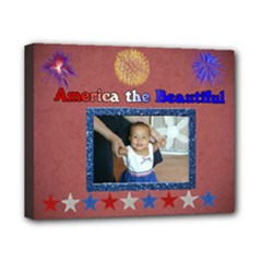 america canvas - Canvas 10  x 8  (Stretched)