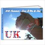 2013 UK Book 1 - 9x7 Photo Book (20 pages)
