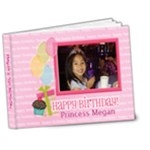 megan s 5th birthday - 7x5 Deluxe Photo Book (20 pages)