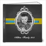 Chalkboard Vintage  - 8x8 Photo Book (20 pages)