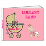 New Baby Girl Book - 9x7 Photo Book (20 pages)