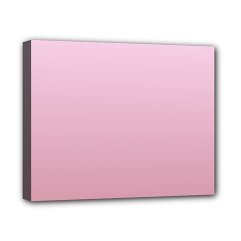 Pink Lace To Puce Gradient Canvas 10  X 8  (framed) by BestCustomGiftsForYou