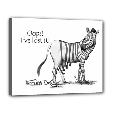 Lost Canvas 14  X 11  (framed) by cutepetshop