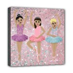 dance canvas 2 - Mini Canvas 8  x 8  (Stretched)