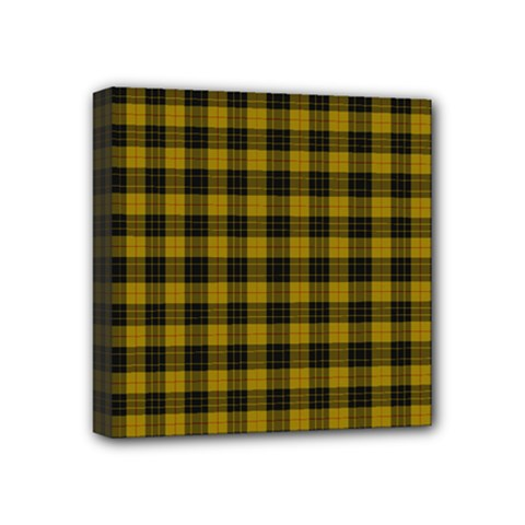 Macleod Tartan Mini Canvas 4  X 4  (framed) by BestCustomGiftsForYou