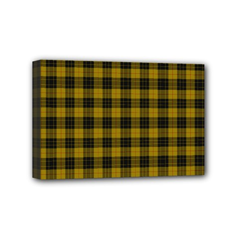 Macleod Tartan Mini Canvas 6  X 4  (framed) by BestCustomGiftsForYou