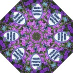wildflower folding umbrella