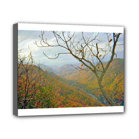 Way Above The Mountains Canvas 10  X 8  (framed) by Majesticmountain