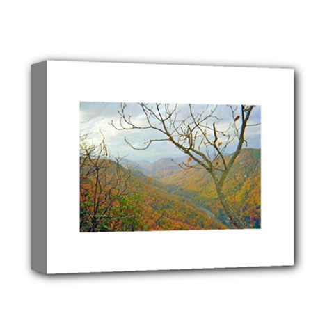 Way Above The Mountains Deluxe Canvas 14  X 11  (framed) by Majesticmountain