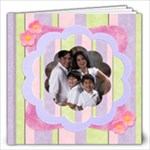 fun cupcakes album - 12x12 Photo Book (20 pages)