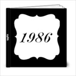 1986 - 6x6 Photo Book (20 pages)