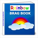 Rainbow 8X8 brag book - 8x8 Photo Book (20 pages)