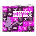 Butterfly Brag Book - 9x7 Photo Book (20 pages)