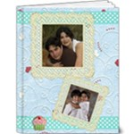 lace & ribbons 9x12 album - 9x12 Deluxe Photo Book (20 pages)
