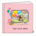 8x8 (20 pages): Birthday Girl - 8x8 Photo Book (20 pages)