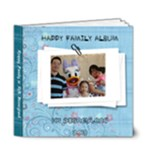 Happy Family at Disney - 6x6 Deluxe Photo Book (20 pages)
