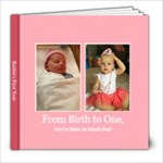 she s one - 8x8 Photo Book (20 pages)