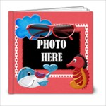 Our Backyard Party 6x6 Photo Book - 6x6 Photo Book (20 pages)