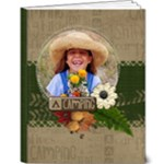Camping-Summer-Fall-9x12 Deluxe Book - 9x12 Deluxe Photo Book (20 pages)