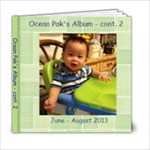 Ocean 7-8 mths - 6x6 Photo Book (20 pages)