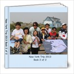 New York 2013 Book 2 - 8x8 Photo Book (20 pages)