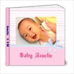 Amelie - 6x6 Photo Book (20 pages)