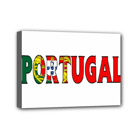 Portugal2 Mini Canvas 7  X 5  (framed)