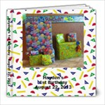 Hayden s 1st B-Day - 8x8 Photo Book (20 pages)