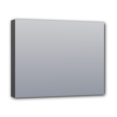 Gainsboro To Roman Silver Gradient Canvas 10  X 8  (framed) by BestCustomGiftsForYou