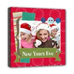 new year and christmas - Mini Canvas 8  x 8  (Stretched)