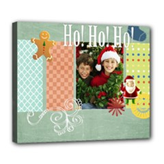 christmas gif - Deluxe Canvas 24  x 20  (Stretched)