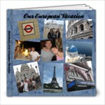 European Vacation - 8x8 Photo Book (20 pages)