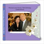 70th birthday book - 8x8 Photo Book (20 pages)