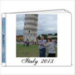 Italy 2013 - 9x7 Photo Book (20 pages)